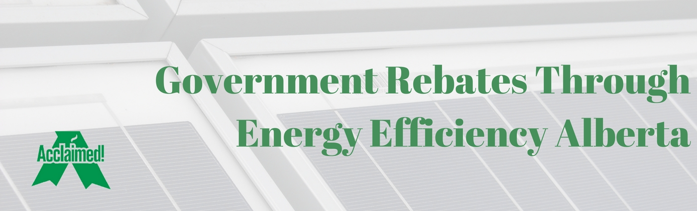 government rebates through energy efficiency alberta