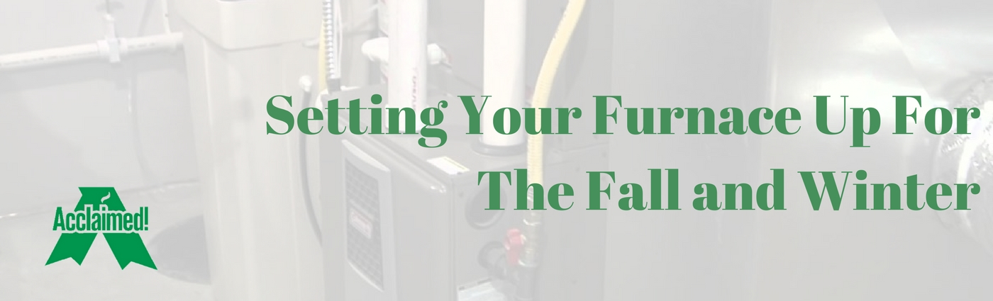 Setting Up Your Furnace