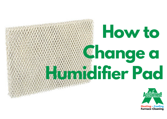 How to Change a Humidifier Pad Evaporator Pad Acclaimed Heating Cooling Furnace Cleaning