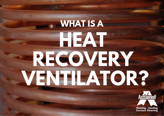 what is a heat recovery ventilator HRV